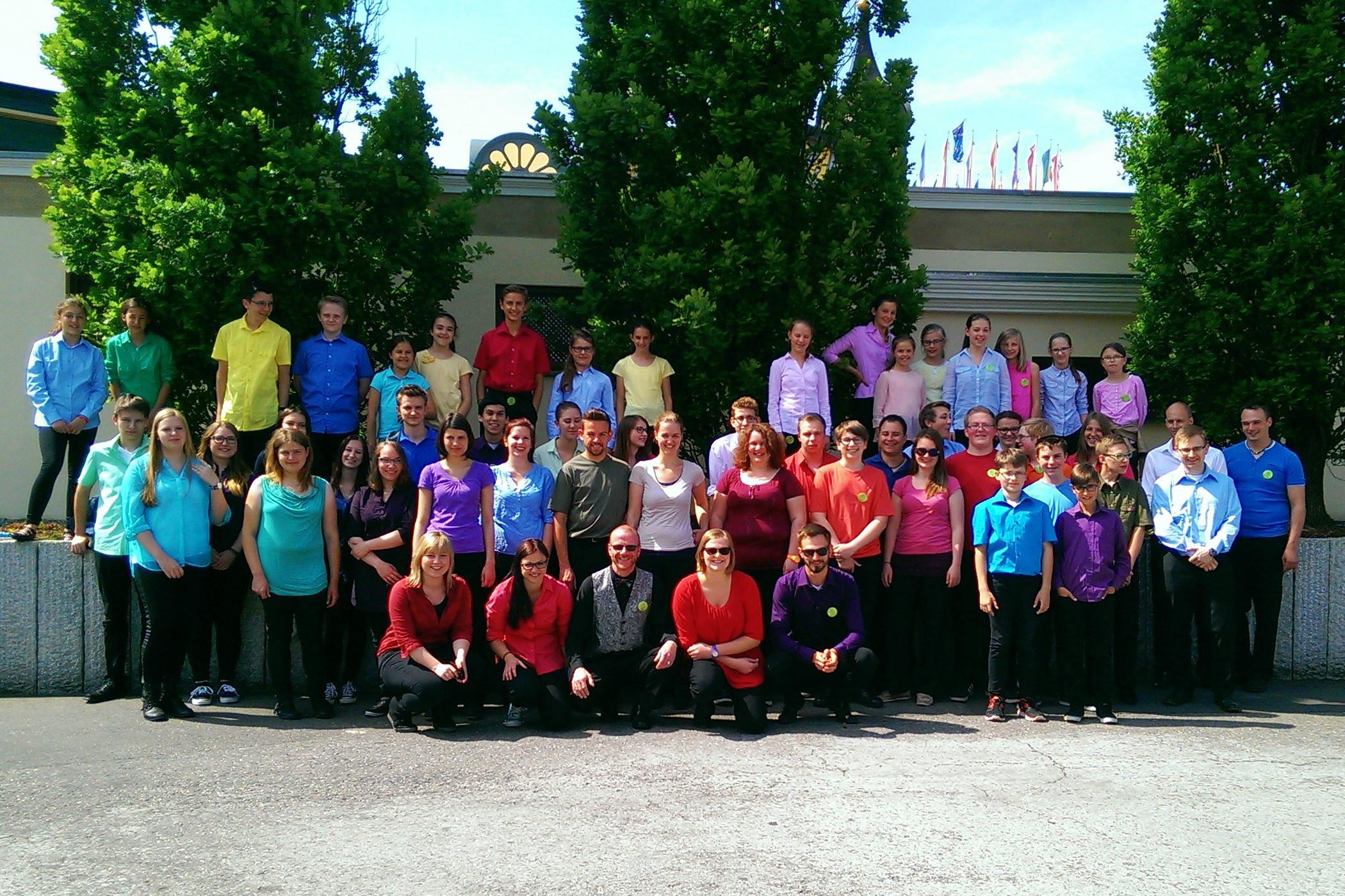 Vereinsausflug für alle Kinder und Jugendlichen zum Europapark (Rust, 2015)