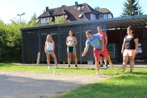 Spiel und Spaß während der Jugendfreizeit