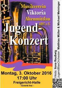 Plakat Jugendkonzert 2016