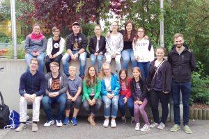 Teilnehmer der Jugendfreizeit 2017