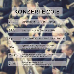 Konzerttermine 2018